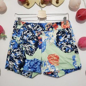 J.CREW factory printed pattern shorts 0